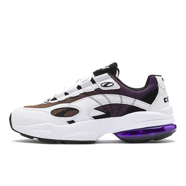 【30%OFF SALE】プーマ スニーカー メンズ セル ベノム ラックス PUMA CELL VENOM LUX Puma White-Purple Glimmer ダッドシューズ ダッドスニーカー ホワイト 370527-01