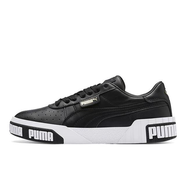 プーマ カリ ボールド ウィメンズ PUMA CALI BOLD WNS Puma black-metalic gold レディース スニーカー 370811-03