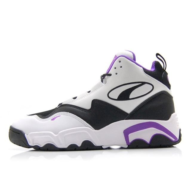 プーマ PUMA SOURCE MID BLACK-PURPLE-WHITE メンズ スニーカー 369829-06