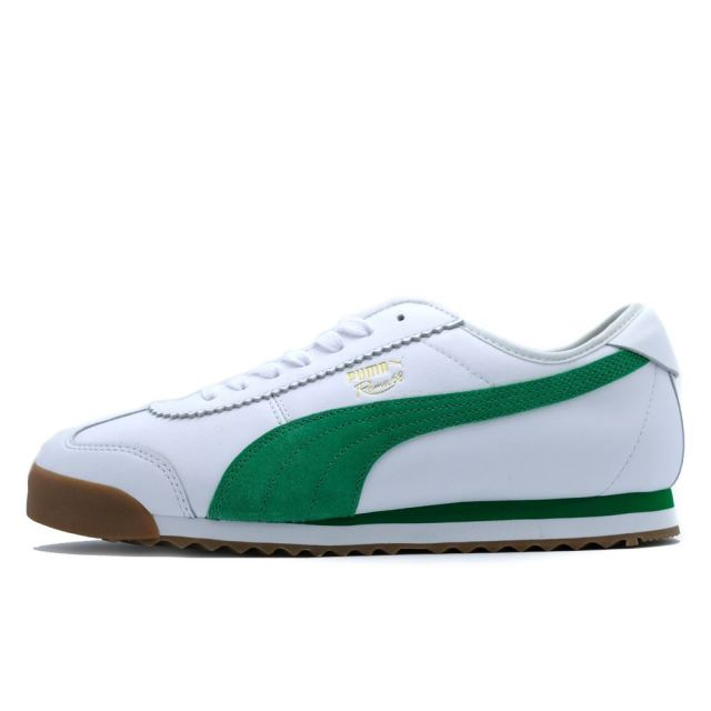 プーマ ローマ68OG PUMA ROMA 68 OG PUMA WHITE-AMAZON GREEN メンズ スニーカー 370601-02