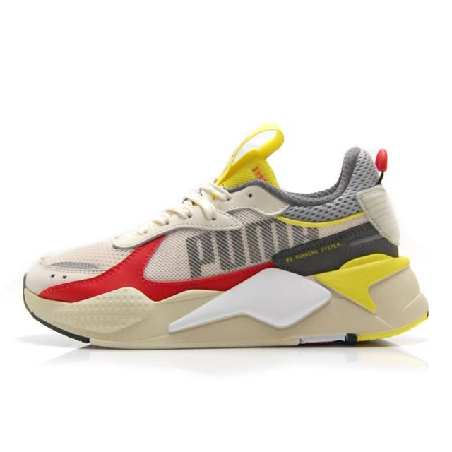 プーマ PUMA RS-X BOLD WHISPER WHITE-HIGH RISK RED メンズ レディース スニーカー 372715-03