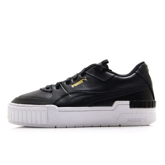プーマ カリ スポーツ ウィメンズ PUMA CALI SPORTS WOMENS PUMA BLACK-PUMA WHITE 373871-02