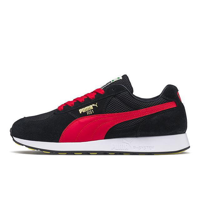 プーマ RS-1 OG PUMA RS-1 OG PUMA BLACK-HIGH RISK RED メンズ スニーカー 369150-07
