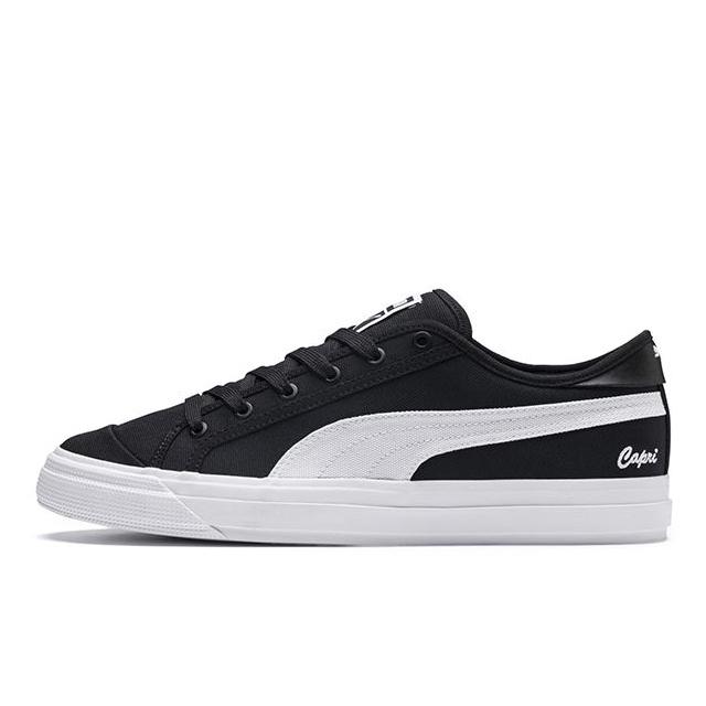 プーマ カプリ PUMA CAPRI PUMA BLACK-BRIGHT WHITE-PUMA メンズ スニーカー 369246-01