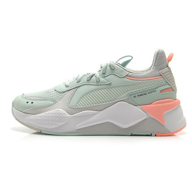 【30%OFF SALE】プーマ RS-X トラックス PUMA RS-X TRACKS FAIR AQUA-GLACIER GRAY レディース スニーカー 369332-05