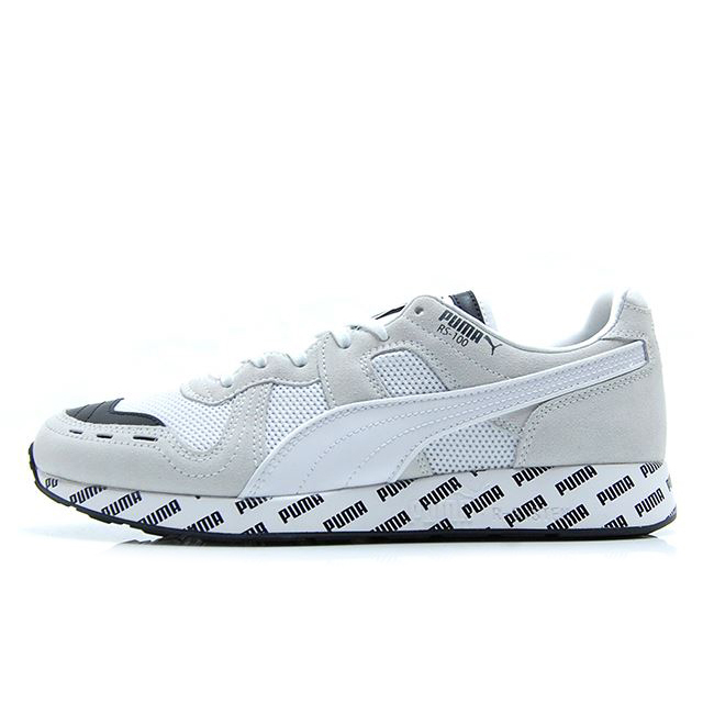 プーマ RS-100 サマー PUMA RS-100 SUMMER PUMA WHITE-PUMA BLACK メンズ スニーカー 369340-01