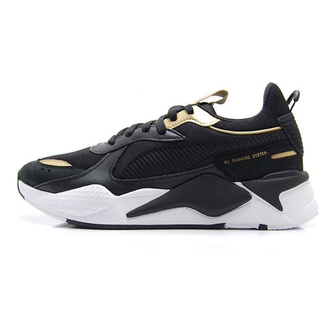 プーマ メンズ スニーカー RS-X トロフィー PUMA RS-X TROPHY PUMA BLACK-PUMA TEAM GOLD 369451-01