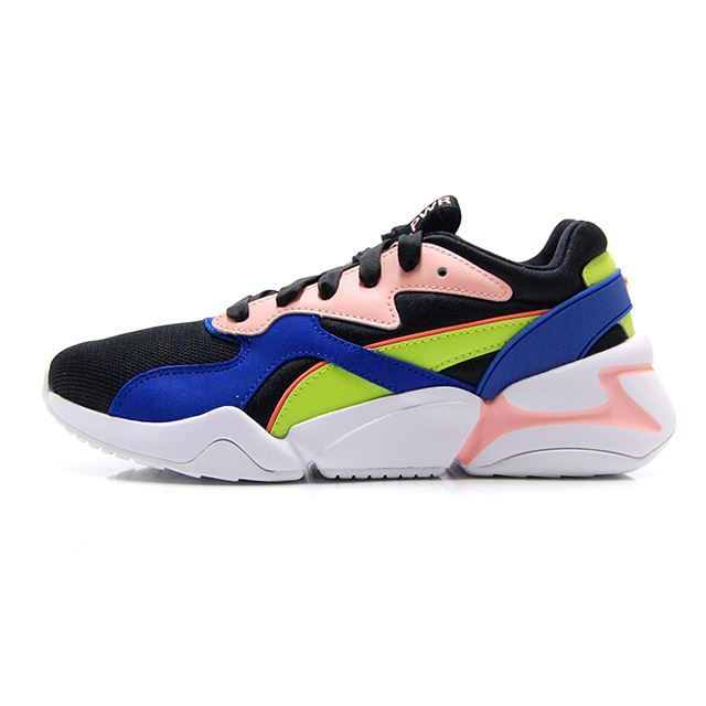 プーマ ノーヴァGRL PWR ウィメンズ PUMA NOVA GRL PWR WNS PUMA BLACK-SURF THE WEB 369656-01