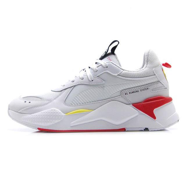 【2/23発売 先行予約】PUMA SF RS-X TROPHY  Scuderia Ferrari PUMA WHITE-PUMA WHITE-ROSSO メンズ スニーカー 370581-01