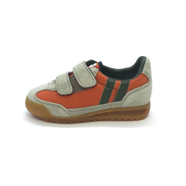 パトリック PATRICK 日本製 子供靴 キッズ スニーカー 男の子 女の子 ブロンクス ベルクロ オレンジ BRONX-V ORG EN9005