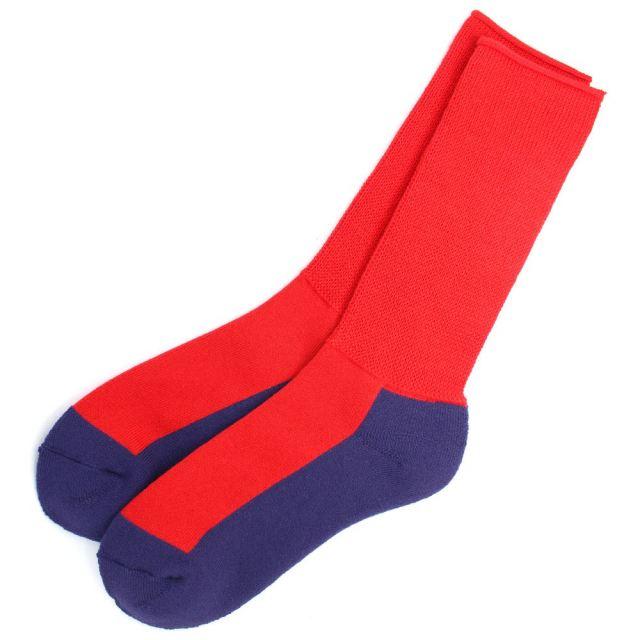 ロトト ROTOTO BRU NA BOINNE VIVID SOCKS RED / PURPLE ソックス ブルーナボイン R1256-RED / PURPLE
