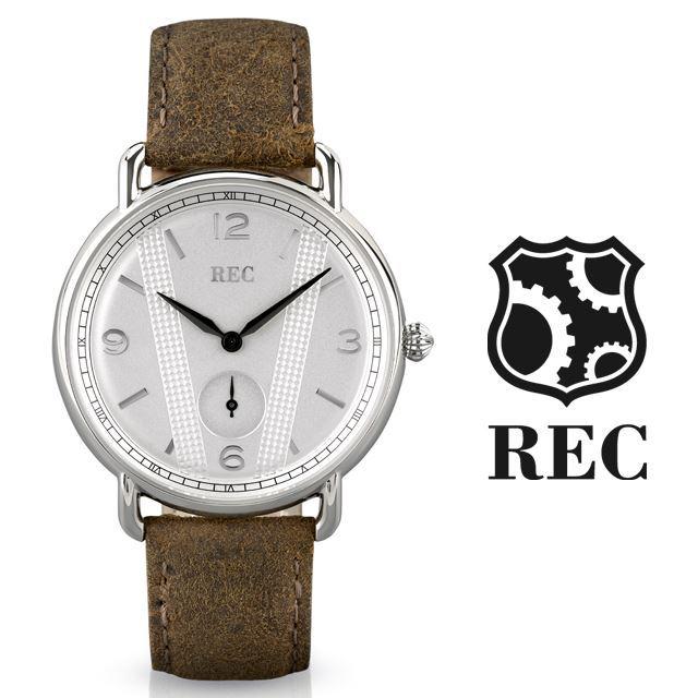 REC Watches レックウォッチ メンズ 腕時計 The Cooper C2 [ミニクーパー/MINI/クラシックカー/ブラウン/レザー/国内正規販売店/Authorized Dealer]