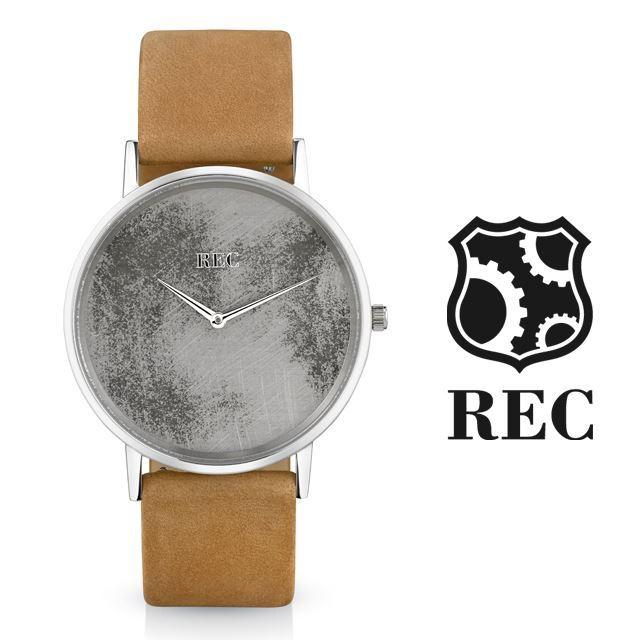 REC Watches レックウォッチ メンズ 腕時計 The Minimalist L2 [ミニクーパー/MINI/クラシックカー/ブラウン/レザー/国内正規販売店/Authorized Dealer]