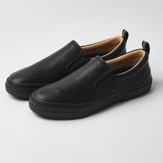 スラック SLACK CALMER LX BLACK/BLACK メンズ スニーカー SL1225-013