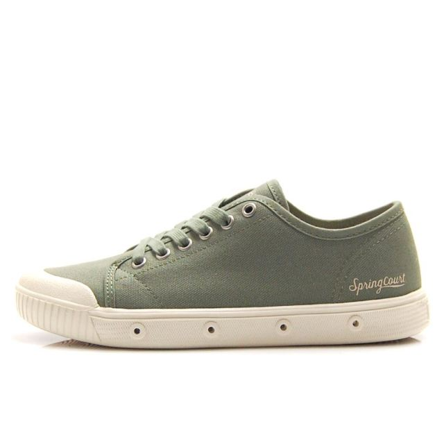 【SALE】 スプリングコート spring court G2 BIO CANVAS GREENLEAF レディース スニーカー G2S-B10S-GREENLEAF