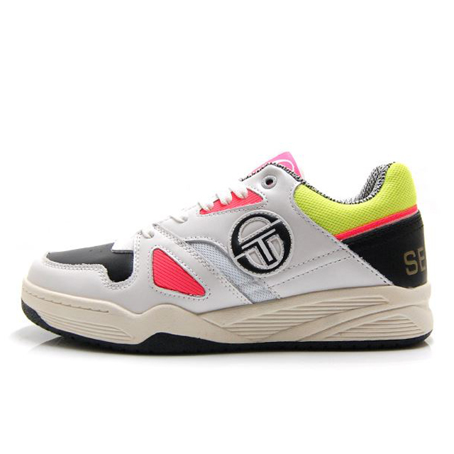 セルジオタッキーニ トップ プレイ SERGIO TACCHINI TOP PLAY White/Neon/Colors メンズ スニーカー STM915284-WNC