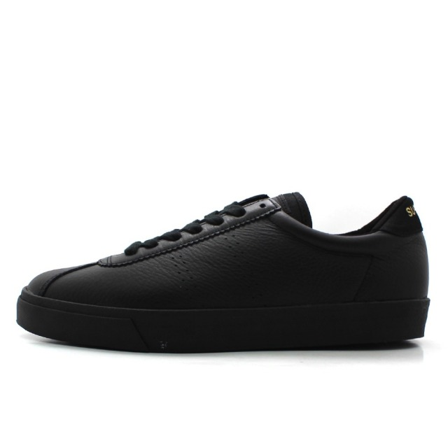スペルガ SUPERGA 2843-COMFLEAU TOTAL BLACK メンズ スニーカー S00CKL0-F90