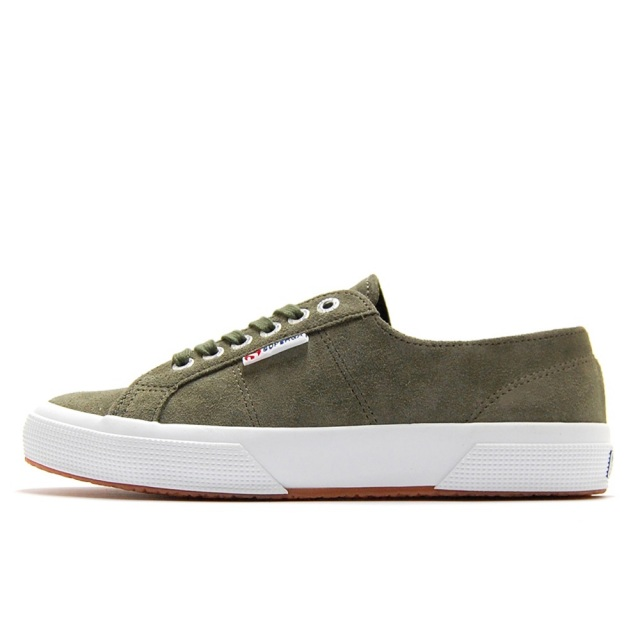 スペルガ SUPERGA 2750-NAPLNGCOTU MILITARY GREEN メンズ スニーカー S111E6W-595