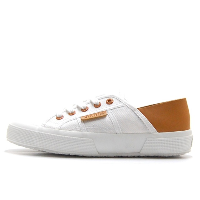 スペルガ SUPERGA 2750-COTU MORPHING MULE WHITE BROWN BRONZE レディース スニーカー S111TTW-A4X