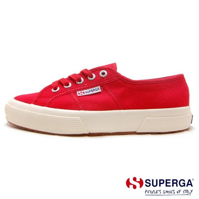 スペルガ 2750 COTU CLASSIC クラシック SUPERGA スニーカーメンズ レディース RED レッド S000010-975