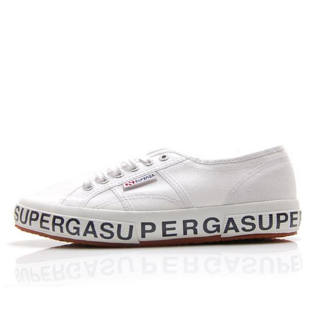 スペルガ SUPERGA 2750-COTLETTERING U WHITE メンズ レディース スニーカー S00GZL0-901
