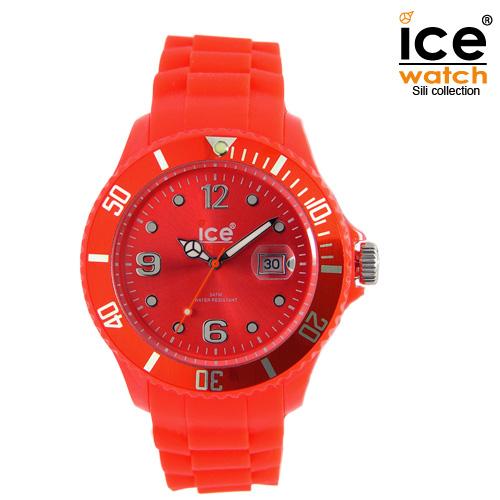 ice watch アイスウォッチ メンズ レディース 腕時計 ICE forever アイスフォーエバー ユニセックス RED レッド 000139 [定番モデル/シリコンストラップ/国内正規販売店/Authorized Dealer]