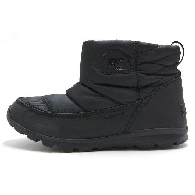 ソレル SOREL ブーツ レディース ウィンターブーツ ウィットニーキャンプ WHITNEY CAMP 防水 ウォータープルーフ  ブラック NL2692-010