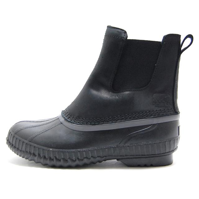 ソレル SOREL ブーツ メンズ ウィンターブーツ シャイアン2チェルシー CHEYANNE II CHELSEA 防水 ウォータープルーフ  ブラック NM2609-010