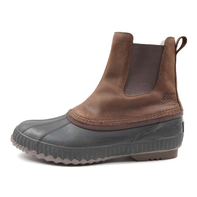 ソレル SOREL ブーツ メンズ ウィンターブーツ シャイアン2チェルシー CHEYANNE II CHELSEA 防水 ウォータープルーフ  ブラウン NM2609-261