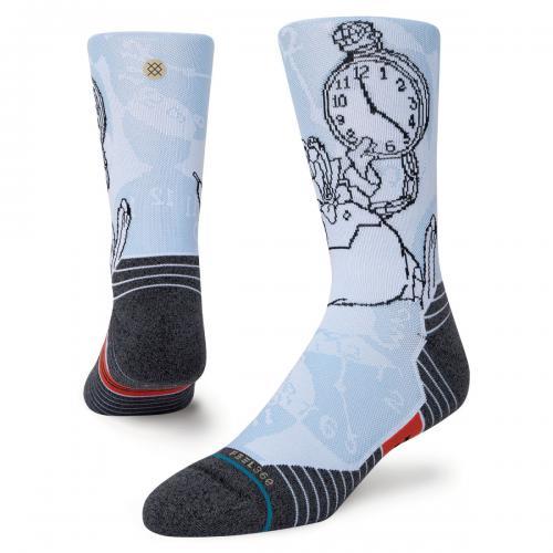 スタンス ソックス STANCE SOCKSIM LATE WHITE メンズ レディース ソックス 靴下 DISNEY ディズニー 不思議の国のアリス A448A21IML-WHT