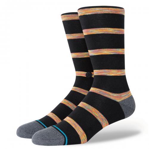 スタンス ソックス STANCE SOCKSMR HODGES BLACK メンズ ソックス 靴下 A545A21MRH-BLK
