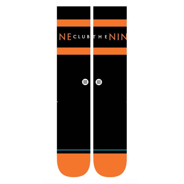 スタンス STANCE NINE CLUB メンズ ソックス A556B20NIN-BLK Lサイズ(25.5-29cm)