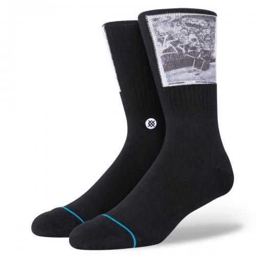 スタンス ソックス STANCE SOCKSYASMINEH BLACK メンズ ソックス 靴下 A556B21YAS-BLK
