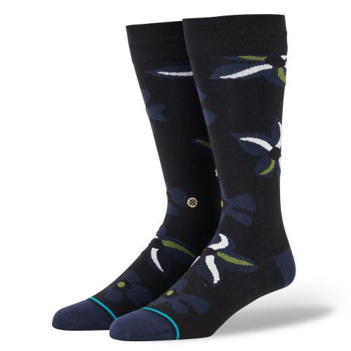 スタンス STANCE メンズ ソックス 靴下 SONIC BLOOM BLACK A645A20SON-BLK