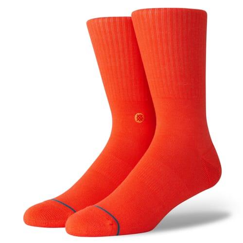 スタンス STANCE メンズ ハイソックス 靴下 ICON ROYAL RED M311D14ICO-RRE  /Lサイズ(25.5-29cm)
