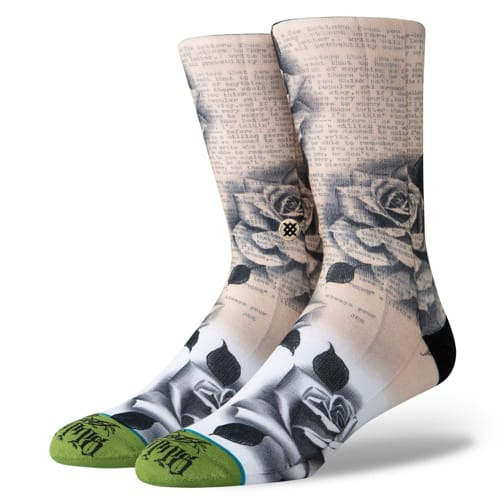 STANCE スタンス メンズ ソックス 靴下 BJ BETTS GREEN M545A19BJB-GRN-Lサイズ(25.5-29.0cm)