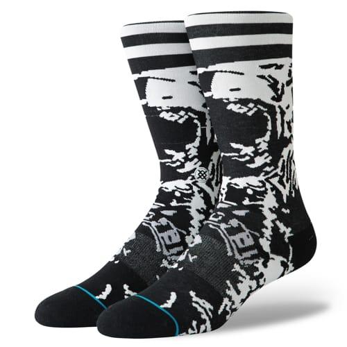 スタンス STANCE メンズ ハイソックス 靴下 マイケル・ケーガン Michael Kagan SOME THINGS CHANGE BLACK M545C19STC-BLK /Lサイズ(25.5-29cm)