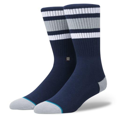 スタンス STANCE メンズ ハイソックス 靴下 BOYD 4 NAVY M556A18BOY-NVY /Lサイズ(25.5-29.0cm)