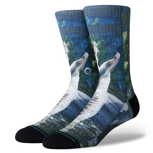 スタンス STANCE メンズ ハイソックス 靴下 ALBERTAM556A19ALB-BLUE-L