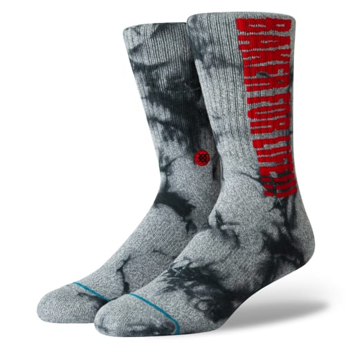 STANCE スタンス メンズ ソックス 靴下 BAKER FOR LIFE GREY M556A19BFL-GRY-Lサイズ(25.5-29.0cm)