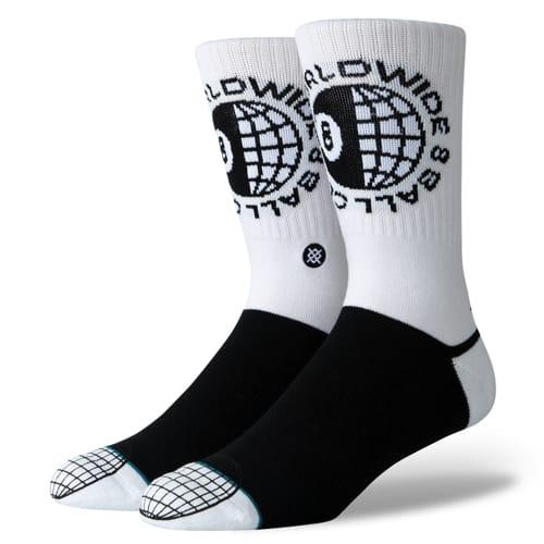 STANCE スタンス メンズ ソックス 靴下 OCHOS WHITE M556A19OCH-WHT-Lサイズ(25.5-29.0cm)