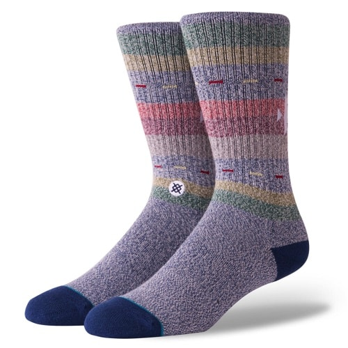 STANCE スタンス メンズ ソックス 靴下 VAUCLUSE NAVY M556C18VAU-NVY-Lサイズ(25.5-29.0cm)