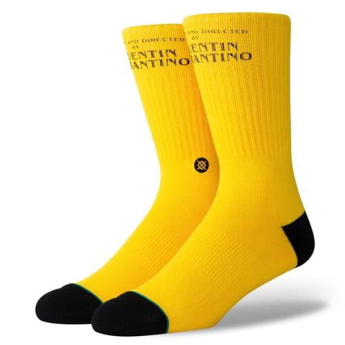 スタンス STANCE メンズ ハイソックス 靴下 キル・ビル KILL BILL YELLOW M556C19KIL-YEL /Lサイズ(25.5-29cm)