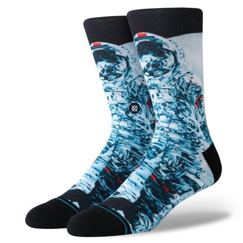 スタンス STANCE メンズ ハイソックス 靴下 Michael Kagan マイケル・ケーガン MANKIND BLACK M558C19MAN-BLK /Lサイズ(25.5-29cm)