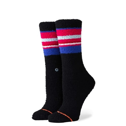 スタンス STANCE SNOWED IN COZY CREW BLACK レディース ソックス 靴下 W535D19SNO-BLK Sサイズ(22.0-25.0cm)