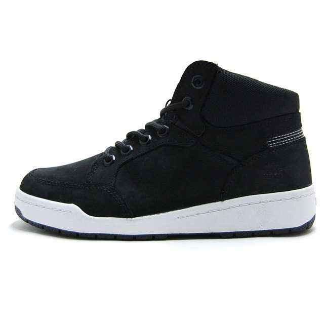 ティンバーランド Timberland メンズ スニーカー Raystown Fabric And Leather Sneaker Boot  ブラック A19EJ