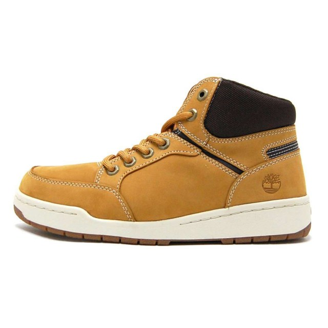 Timberland ティンバーランド メンズ スニーカー Raystown Fabric And Leather Sneaker Boot A1I2Q [ローカット/ブーツ/ブラウン]