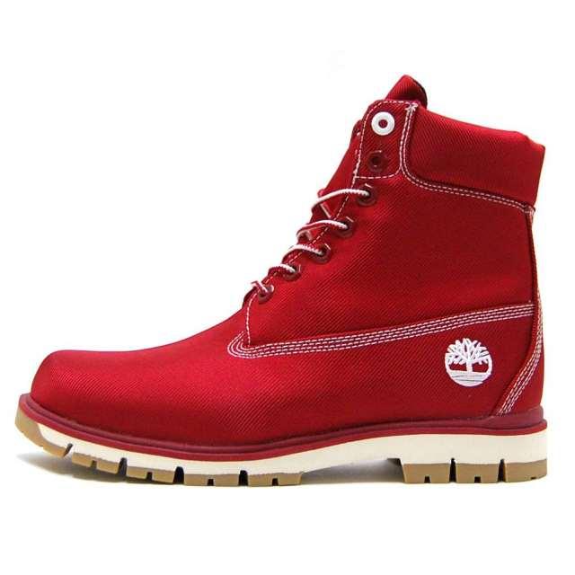 Timberland ティンバーランド メンズ ブーツ Radford Canvas Boot A1M8B [ハイカット/キャンバス/レッド]