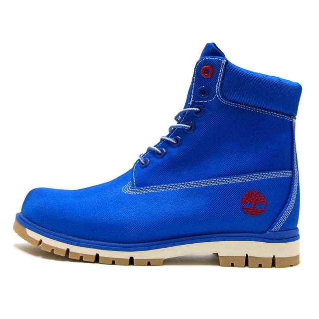 Timberland ティンバーランド メンズ ブーツ Radford Canvas Boot A1M8M [ハイカット/キャンバス/ブルー]