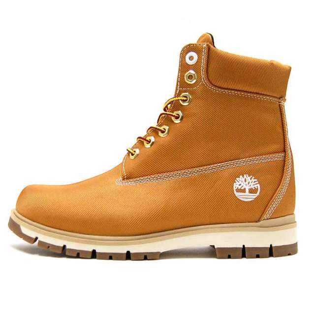 Timberland ティンバーランド メンズ ブーツ Radford Canvas Boot A1M8X [ハイカット/キャンバス/ブラウン]
